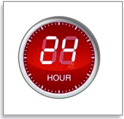 تایمر دستگاه به آسانی تا مدت ۲۴ ساعت برای پخت همه انواع مواد غذایی قابل تنظیم می باشد