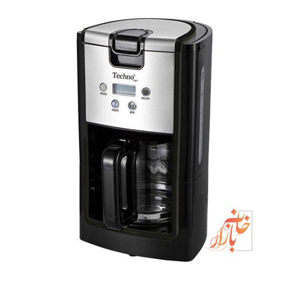 قهوه ساز برقی تکنو ۸۱۶ ( قهوه جوش دیجیتال ) Techno TE 816