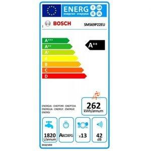 ماشین ظرفشویی بوش SMS 69 P 22 EU