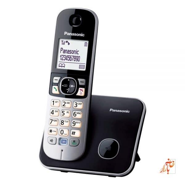 گوشی تلفن بی سیم پاناسونیک KX-TG6811 | Panasonic KX - TG6811 Wireless Phone