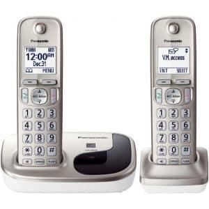 گوشی تلفن بیسیم پاناسونیک 212 ( Panasonic KX _ TGD 212 )