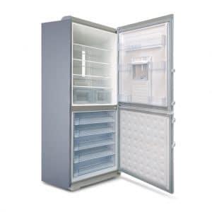 یخچال فریزر الکترواستیل ES 34 - رنگ تیتانیوم